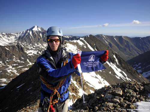 BSES on top of the Altai (Photo: David Tett)