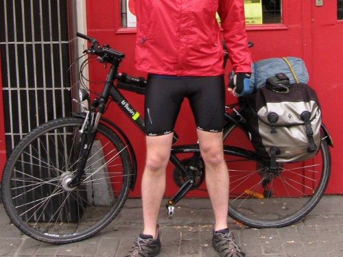 8 strange situations in which I've found myself wearing lycra
