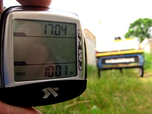 1,001 miles in a rickshaw