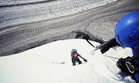Climbing in Kyrgyzstan