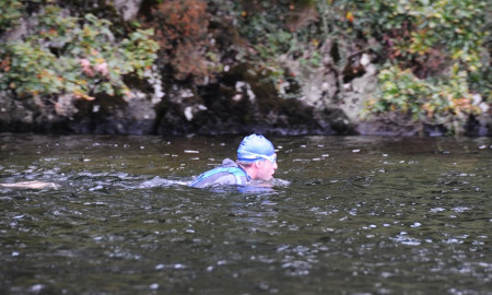 Swimming the Thames