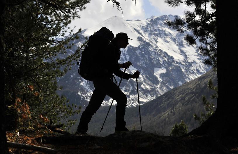 Climbing in the Russian Altai
