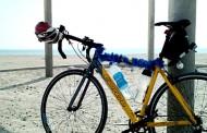 Cycling Around Masirah Island on Christmas Day