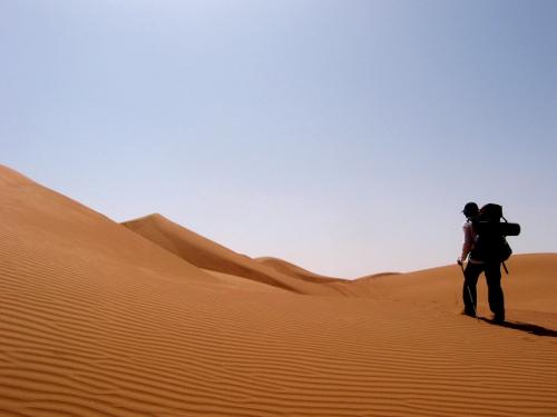 Crossing the Wahiba Desert