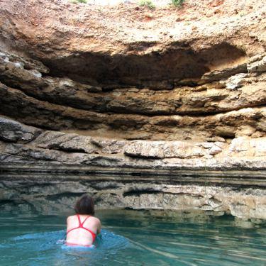 Bimmah Sink Hole, Outdoor Wild Swimming Oman