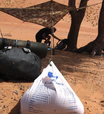 Desert tarp