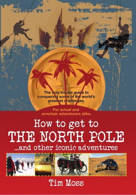 How To Get To The North Pole Front Cover Design
