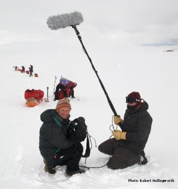 How To Communicate on Expedition - Photo: Robert Hollingworth