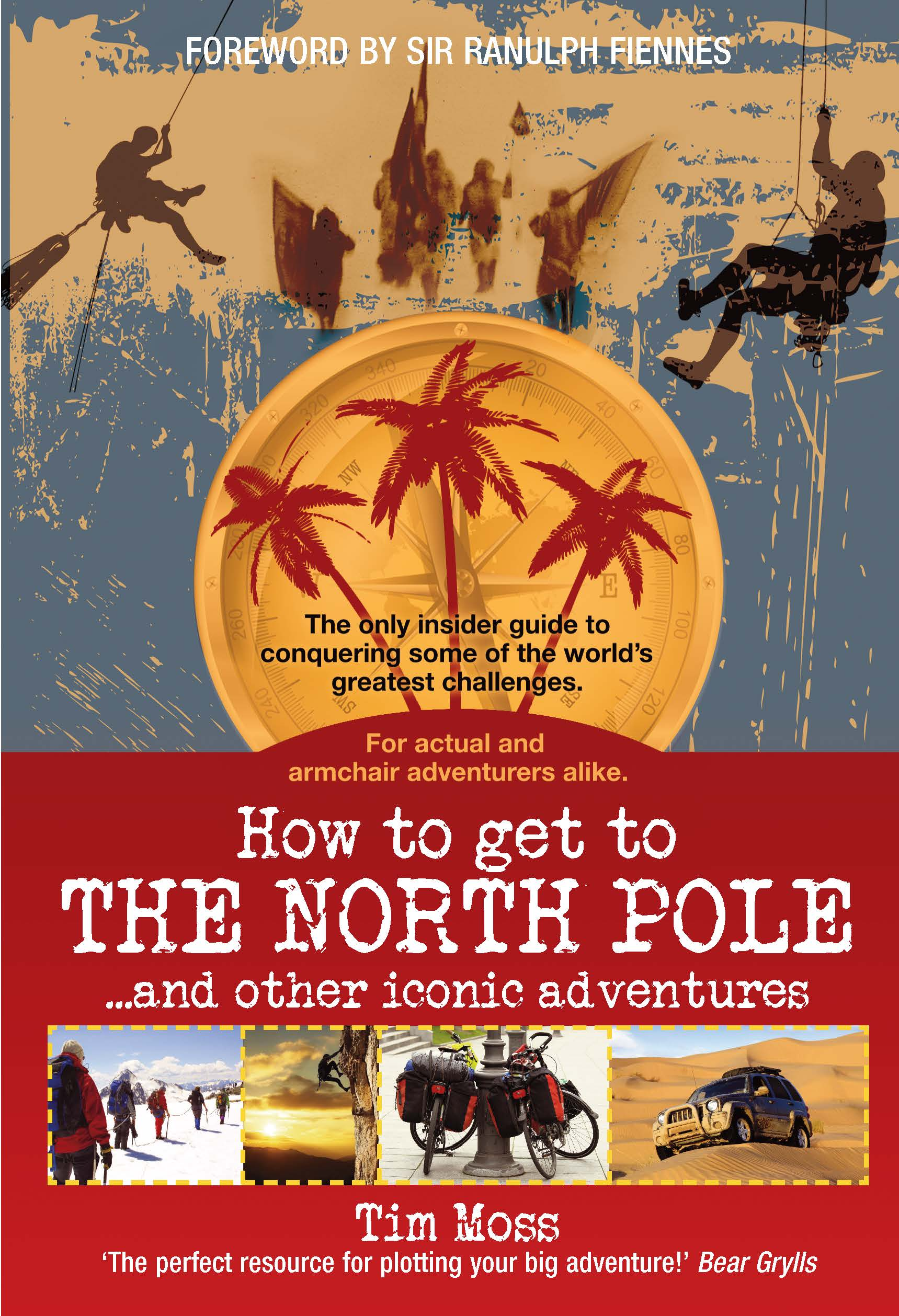 North Pole Book Front Cover