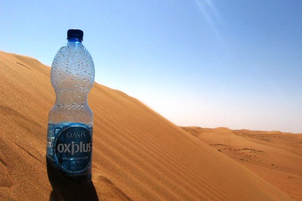How much water do you need to drink in a desert?