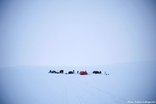 The Language of Polar Expeditions