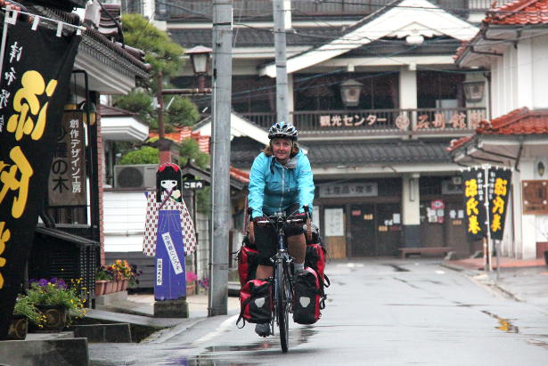 Cycling through Tsuwano