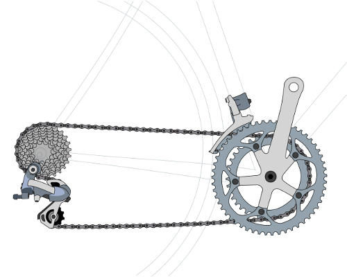 External Bicycle Gears