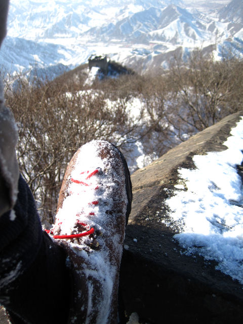 Walking the Great Wall in Winter