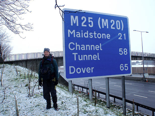 Walking the M25