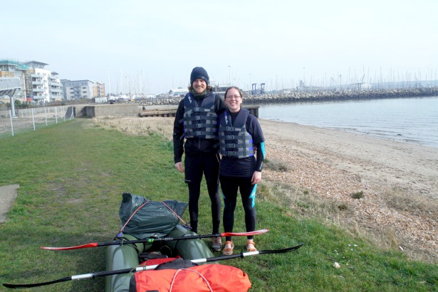 Judith Pope & Ben Smith - Packrafting the Caledonian Canal