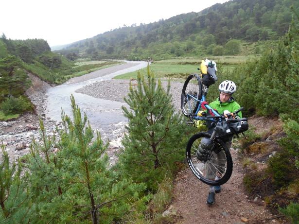 Bikepacking across the Cairngorms