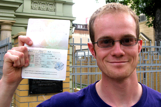 How To Plan An Expedition - Visa for Belarus