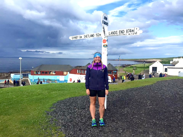 Elise Downing - Running the Coast of Great Britain