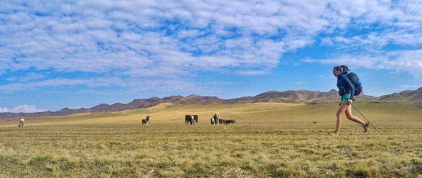 Running Across Kyrgyzstan
