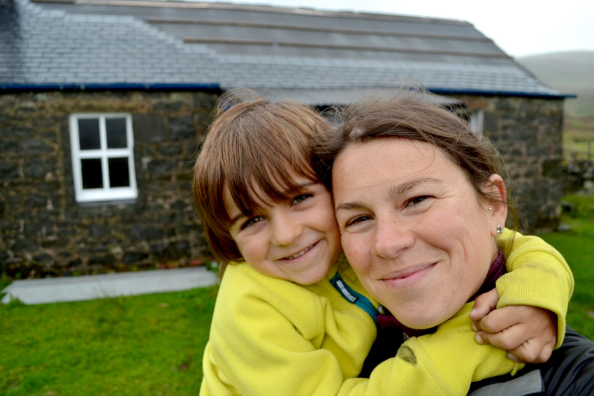 Kerry-Anne Mairs - 5 nights in 5 bothies with a 5-year-old