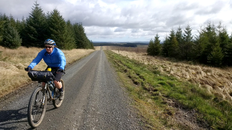 Bikepacking in Northumberland National Park