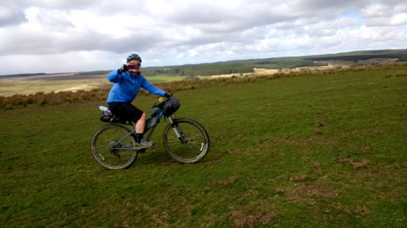 Bikepacking in Northumberland National Park