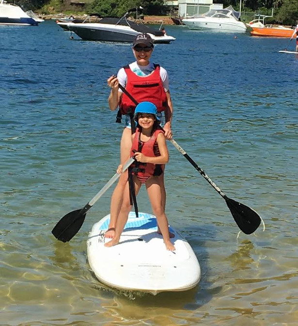 Emily & Lua - Paddleboarding the Lake District