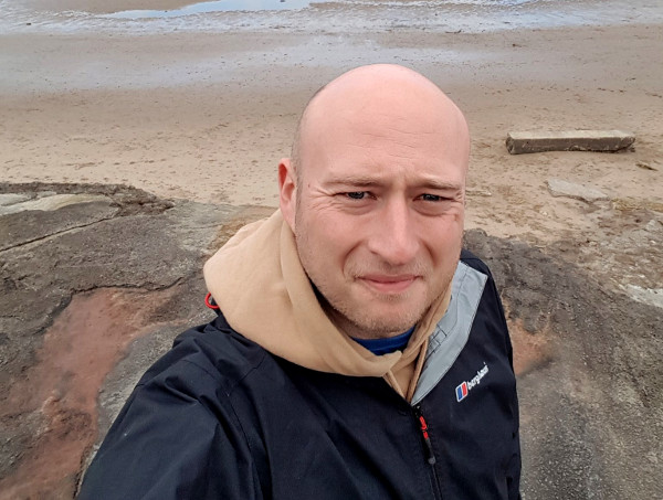 Gary Marshall - Swimming the Yorkshire coastline