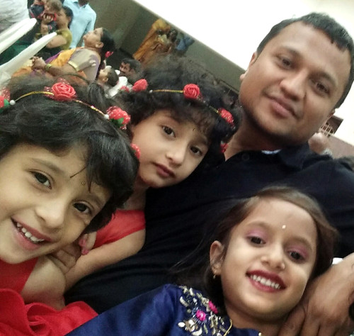 Guru and family - Walking in the Western Ghats