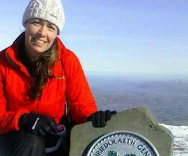 Tina Page - Running the Three Peaks
