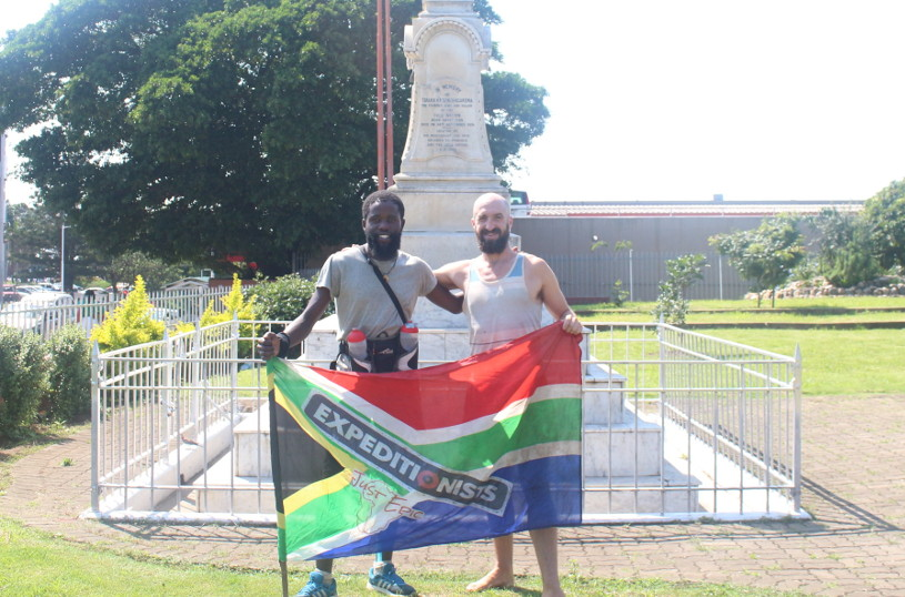 A thousand miles barefoot across South Africa