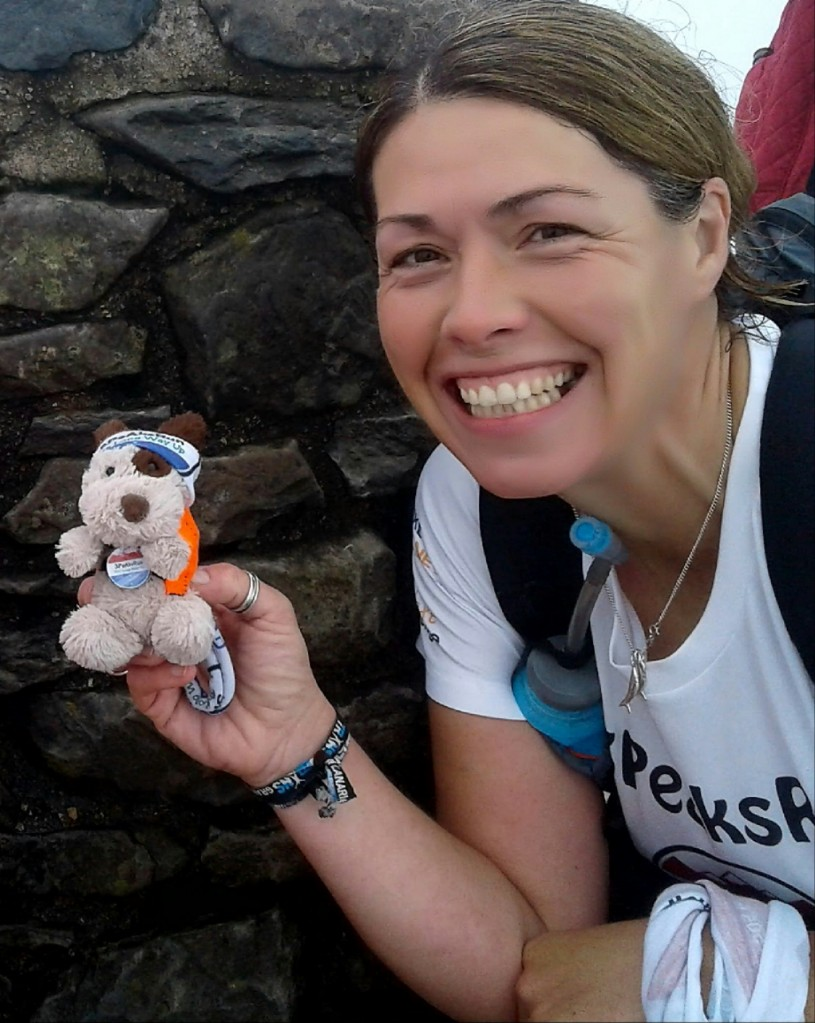 Tina Page - Running the 3 Peaks