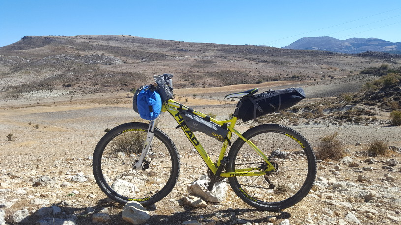 Bikepacking Anadalusia