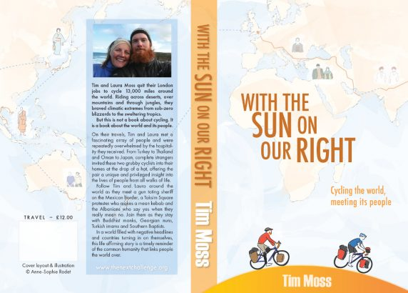 With the Sun on Our Right - Cover design