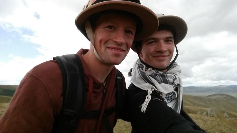 George & Freddie Shelton - Isle of Man 'TT' run