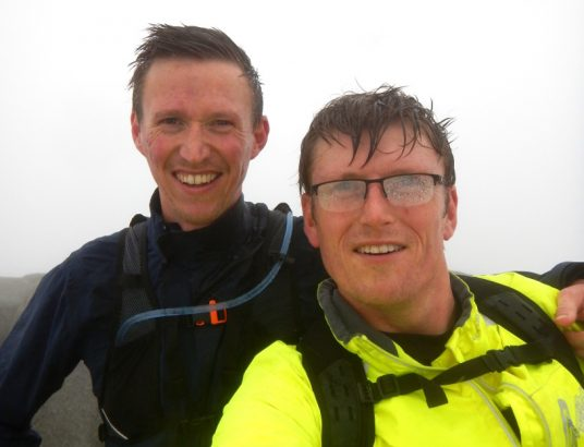 Richard & Ed Shawcross-March - Arran Triathlon
