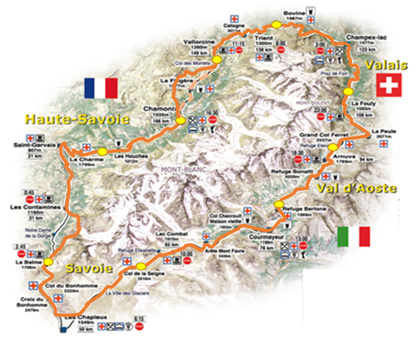 Joe McDermott - Teenage Tour du Mont Blanc