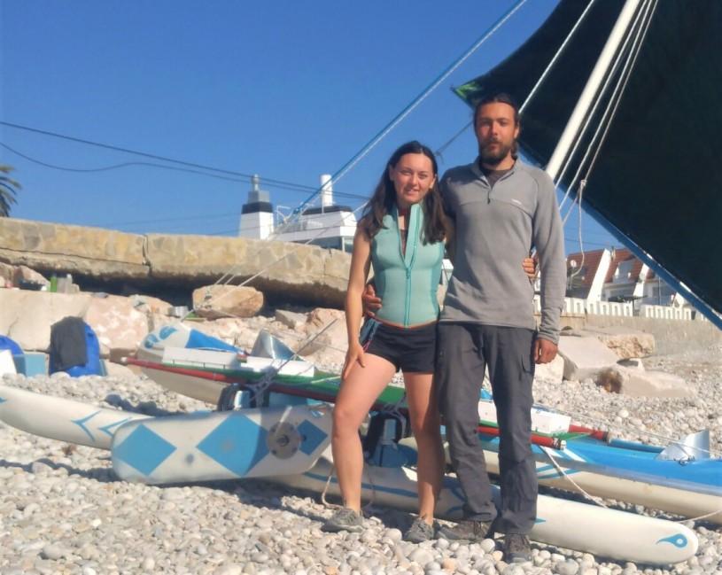 Gina Slevinsky & Martin Malezic - Sailing Spain to Morocco