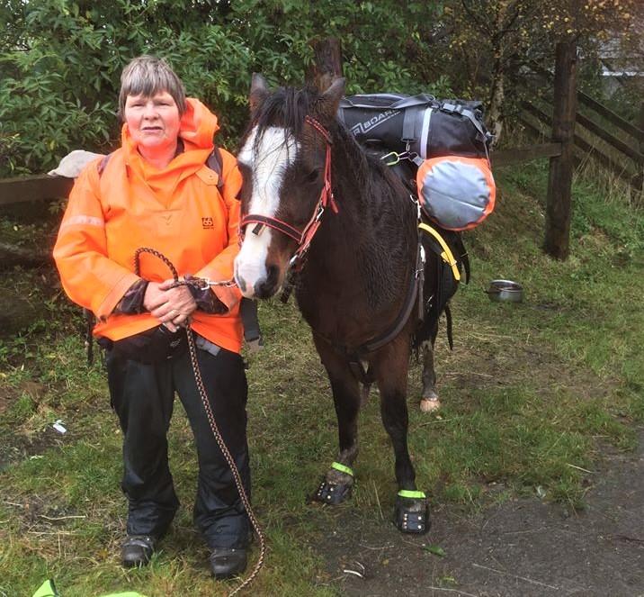 Walking Around Scotland with a Pony