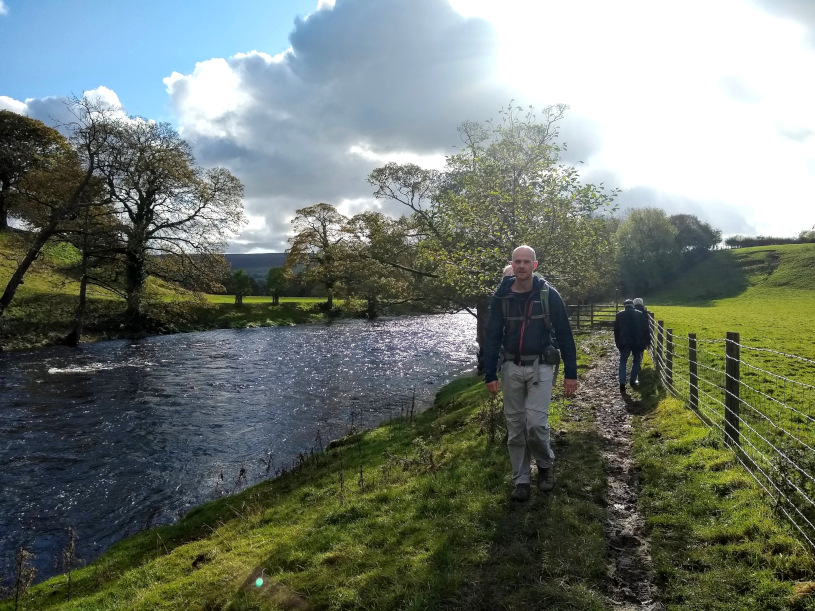 Walking the Dales Way with a Baby