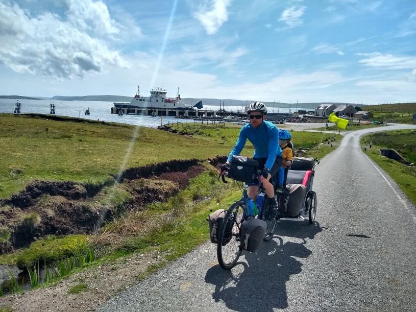 Cycle Touring on Shetland